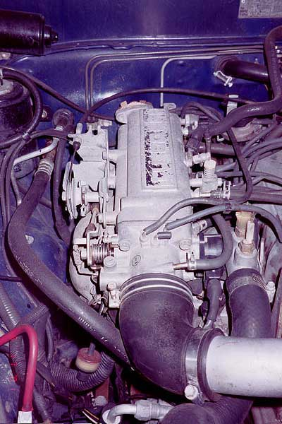 The stock intake plenum